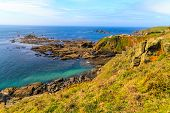Lizard Point, Cornwall, Uk