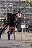Dignitaries Visit Paris