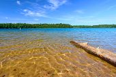 Wisconsin Northwoods Swimming Beach