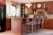 Modern Interior Domestic Kitchen