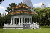 Chinese Pavilion Lumphini Park Bangkok