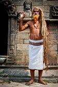 Holy Sadhu Man