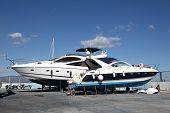 Motor Yachts Under Maintenance