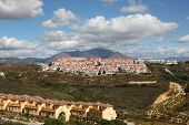 foto of urbanisation  - Urbanizations on the Costa del Sol Andalusia Spain - JPG