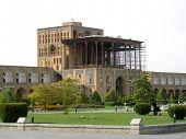 Постер, плакат: Путешествия Иран: Али Qapu дворец