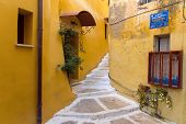 Small alley in Chania