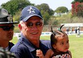 Jerry Jones With Baby