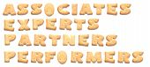 The Words: Associates Experts Partners Performers Made Of Cookies