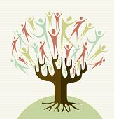 Embrace Diversity Tree Set