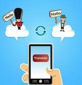 Cloud Computing Konzept übersetzen
