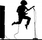 Afro guitar jump