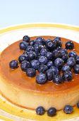 Blueberry Flan
