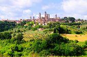 Medieval Tuscan village