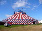 American Circus Tent Exterior