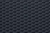 Moderne schwarz Weben Textur