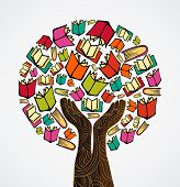 Concept Design Books Tree