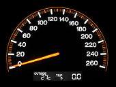 Led Speedometer