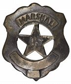 Authentic U.s. Marshall Badge