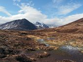 Cairngorms Mountains, South Of Carn A Mhaim, Scotland In Spring