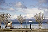 Ships Visit Ushuaia Argentina
