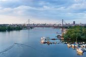 stock photo of serbia  - Panorama of Belgrade downtown - JPG