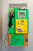 Old Public Phone