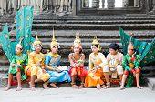 Dançarinos de Angkor Wat, Camboja