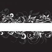 Black grunge pattern