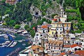 cênica de Amalfi, Itália