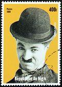 Charlie Chaplin Stamp