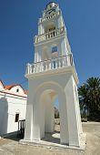 Our Lady Tsambika monastery. Rhodes. Greece.