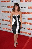 Mary Birdsong  at the Los Angeles Premiere of 'Halloween II'. Grauman's Chinese Theatre, Hollywood,