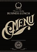 Template For The Cover Of The Menu