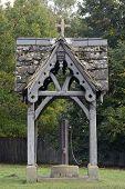 Old Village Water Pump. Leigh. Surrey. England