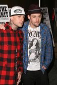 Benji Madden and Joel Madden at the Los Angeles Premiere of 'Anvil! The Story of Anvil'. The Egyptian Theatre, Hollywood, CA. 04-07-09