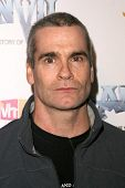 Henry Rollins  at the Los Angeles Premiere of 'Anvil! The Story of Anvil'. The Egyptian Theatre, Hol
