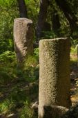 Ancient roman mile markers