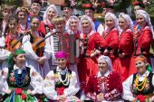 Banja Luka - June 21 - Young People In Traditional Polish Ethnic Clothing On International Folk Danc