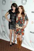 Alessandra Torressani and Magda Apanowicz  at 'Battlestar Galactica-Caprica' presented by the Twenty