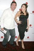 Scott Montoya and Jill-Michele Melean  at a Special Screening Of 'The Hot Tamales Comedy Special' pr