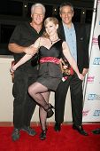 Randy West with Sunny Lane and Herschel Savage at the Los Angeles Premiere of 'Naked Ambition an R-R