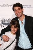 Dominic Scott Kay and James Wolk  at the Rally For Kids With Cancer 'The Winner's Circle' Gala Dinner. Private Location, Beverly Hills, CA. 05-02-09