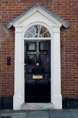 English Georgian house door