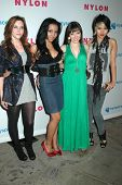 The Stunners at the Nylon Magazine Young Hollywood Issue Party. Roosevelt Hotel, Hollywood, CA. 05-0