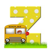 Alphabet First Day Of School Z