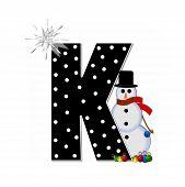 Alphabet Frosty K
