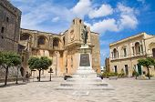 Gallone palace. Tricase. Puglia. Italy.