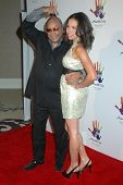 Quincy Jones and Jurnee Smollett  at the Launch of 'Mandela Day'. Beverly Hills Hotel, Beverly Hills, CA. 05-14-09