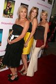 Elana Krausz with Bre Blair and Lisa Arturo at the Los Angeles Premiere of