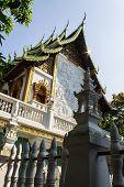 Chapel In Wat Kru Toa , Chiangmai Thailand